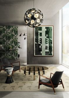 Discover how these luxury decor ideas are the ones you'll want in home interior design. All the home design ideas to get the perfect home you've ever wanted. Contemporary Interior Design, Luxury Interior Design, Home Interior, Interior Design Inspiration, Modern Design, Modern Contemporary, Design Interiors, Luxury Decor, Deco Interiors