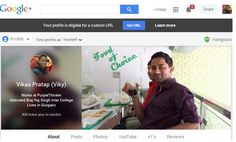 Importance of Custom URL for Google Plus Profile or Page