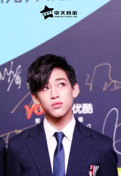 BamBam ☆ GOT7 at Youku Night 2014 Red Carpet