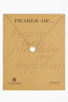 Pearls of Friendship Necklace: Gift her a necklace that is as classy and elegant as she is.