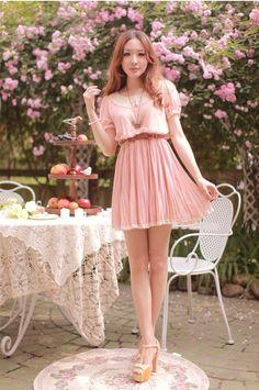 SNSD Yoona Style Pink korean fashion clothing