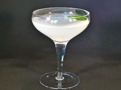 """The Daiquiri is one of the great classic cocktails. Here is the original style, not the girly frozen/blended version which are common today.  The """"manly"""" version originated in 1898 in Santiago, Cub..."""