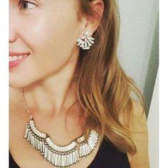 Silver Fringe Statement Necklace | Stella & Dot