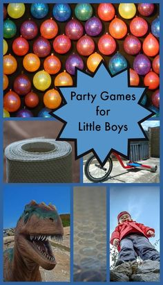 Planning birthday parties for boys is such a blast, especially with these great party game ideas for little boys. We've included a mix of indoor games and outdoor fun.