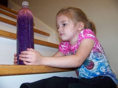 Glitter Bottle recipe so you can use it as a Time Out timer.