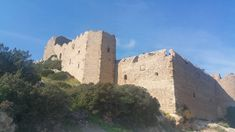 The Area Of Kritinia Castle In Rhodes Offers Tranquility, History And Picture Postcard Views That Will Take Your Breath Away! Picture Postcards, Beautiful Scenery, Rhodes, Monument Valley, Mount Rushmore, Castle, Mountains, History, Pictures