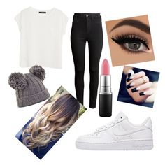 """""""Untitled #71"""" by tumblrsaved2 on Polyvore featuring H&M, NIKE, MANGO, BCBGMAXAZRIA and MAC Cosmetics"""