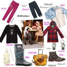 Vivement la Rentrée ... Page Shopping spéciale Enfants !  http://fashions-addict.com/index.asp?ID=378=11377