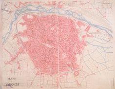 Planos y vistas * Anthonie van den Wjingarde . Nobilis ac regia civitas Valentie in Hispania. Valencia, Vintage World Maps, Den, Articles, Maps, Antigua, Pictures