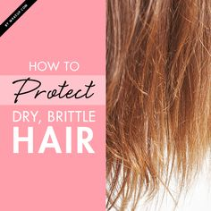 If your hair is breaking off at the ends or even has a straw like texture, then it's time to make some serious changes to your hair care routine. Maintaining healthy hair shouldn't feel like a chore, ladies! If your hair is dry and brittle, we'll give you the lowdown on how to protect it.