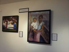 """View of exhibition """"Memories of a Child"""", Feb 21st-27th 2014 at Nancy Victor Gallery, London"""
