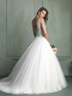 Ethereal Ball Gown by Allure--Back