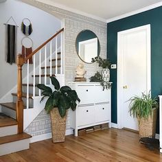 Fixer Upper- The Nut House — Bethany Mitchell Homes Do you know what to be looking for in your next home? Here are two things I always think about when guiding my clients or looking for my own place. Hallway Decorating, Interior Decorating, Decorating Ideas, Home Interior, Interior Design, Oak Trim, Home And Deco, Next At Home, Fixer Upper