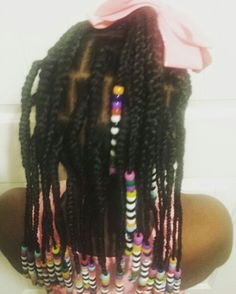 Crochet Box Braids With Rubber Bands : Kids Crochet Braids & More on Pinterest Crochet braids, Kids crochet ...