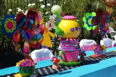Mad Hatter Tea Party Birthday Party Ideas | Photo 1 of 29 | Catch My Party