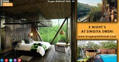 2 Night's Singita Sweni #Lodge Packages At Very Lowest Price Only On Kruger Park Travel... Enquiry for 2 night's at Singita Swen at http://bit.ly/2GRMJH6