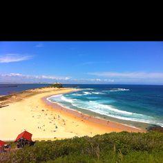 Nobbys beach. Newcastle, Australia