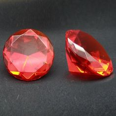 Click http://paranormalcollections.com/product/bohemian-scrying-crystal/ to see more pics and details about this Red Bohemian Scrying Crystal!