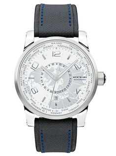 4e5f1c27b89 Montblanc TimeWalker Collection World-Time Hemispheres – North I just kinda  like it