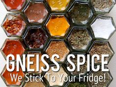 Nice! Gneiss Spice Magnetic Spice Racks / Save Kitchen Space's video poster