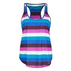FULL TILT Essential Stripe Womens Tank ❤ liked on Polyvore