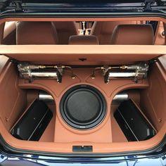 Custom Car Interior, Car Interior Design, Custom Car Audio, Custom Cars, Vw Mk1, Volkswagen, Audi 200, Car Audio Installation, Subwoofer Box Design