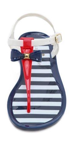 Kate Spade patriotic sandals. So cute!