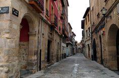 Calle Mayor en Medina de Pomar #Burgos #Spain