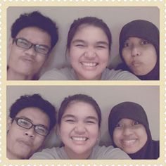 with my friends♡ risca & ery #moment #me #friends