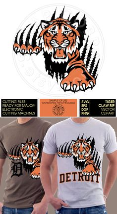 Image Detail For Tiger Claws Mascot Team Sports Decal