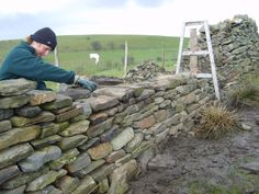 How to build a stone wall with your own hands