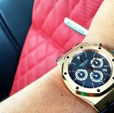Audemars Piguet Royal Oak Chronograph Pink Gold