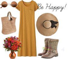 """Be happy!"" by ana-felmini on Polyvore"