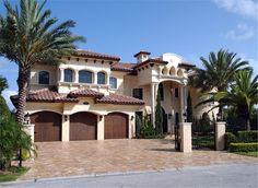 Spanish styled house