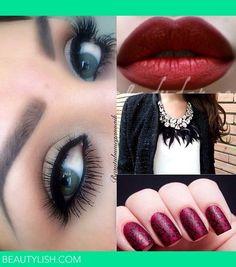 A glamorous look! ❤