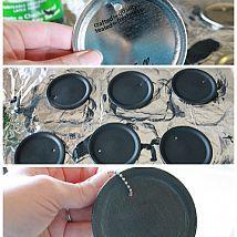 Mason Jar Crafts {DIY Chalkboard Tags}