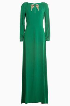 Праздничные платья зеленого цвета для встречи Нового года 2017 | Vogue | Мода | Выбор VOGUE | VOGUE