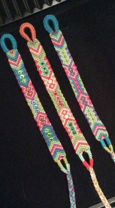 Normal Friendship Bracelet Pattern #14072 - BraceletBook.com