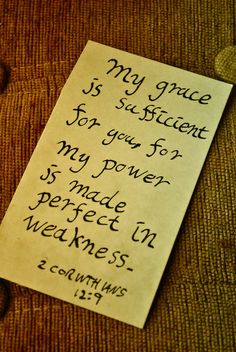 God's Grace IS enough !!