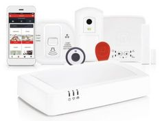 Alarmsystem evohome Security von Honeywell