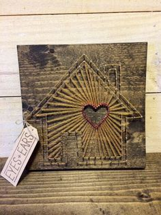 String Art Wall Decor Custom Design by eyesandearsdesign on Etsy, $25.00