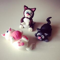 how to make cat from fondant - Αναζήτηση Google