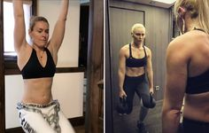Downhill skier Lindsey Vonn recently sat down with the New York Times to discuss her brutal core routine. Lindsey Vonn, Mens Fitness, Fitness Tips, Fitness Plan, Health Fitness, Help Losing Weight, Lose Weight, Skiing Workout, Exercises