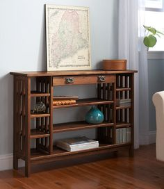 "Mission Storage Console, 42"": Storage and Organization at L.L.Bean"