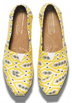 Bright yellow #JonathanAdler for #TOMS http://rstyle.me/~1KrFd