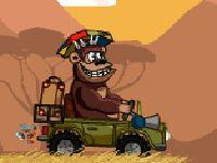 Magic Safari - Debes guiar con seguridad tu vehículo a través de un safari peligrosos en este divertido juego de puzzles basado en la física.