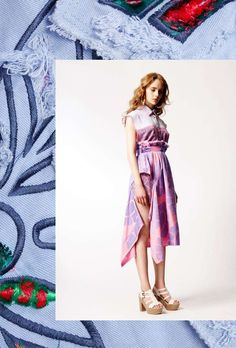 Colorfully Textured Catalogs : Colette Vermeulen Spring 2013