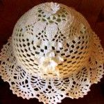 Summer Hat for a Young Lady free crochet pattern