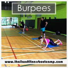 Time for a Couple of Burpees from Our Fitness Soldiers! The burpee is a full body strength training exercise and the ultimate example of functional fitness. With every rep, you'll work your arms, chest, quads, glutes, hamstrings, and abs.  #Burpee #Fitnessgoal #exercises #workout #strengthtraining #fitnessbootcamp