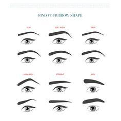 Eyebrows and makeup tips Straight Eyebrows, Eyebrows On Fleek, Eye Brows, Arched Eyebrows, Natural Eyebrows, Eyebrows For Oval Face, Korean Eyebrows, Shape Eyebrows, Eyebrow Makeup